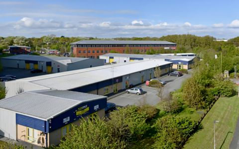 View of Pioneer Business Park, CH65 1AE