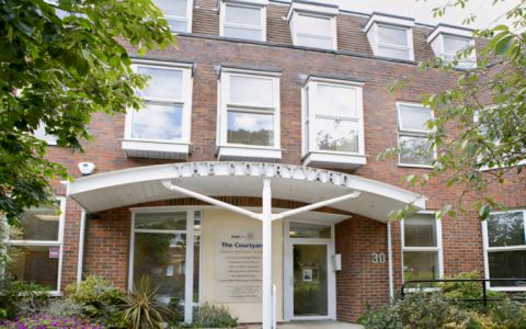 View of Worthing Road Serviced Offices