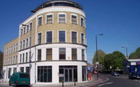 View of Battersea Park Road Serviced Offices