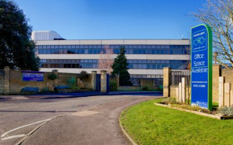View of Hersham Place Technology Park, KT12 4RZ