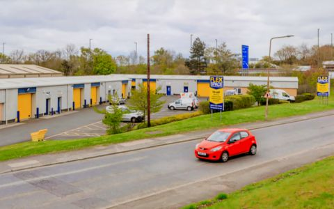 View of Harvest Road Serviced Offices