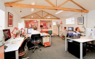 View of Thrales End Farm Serviced Offices