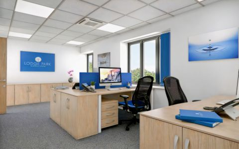 View of Lodge Lane Serviced Offices