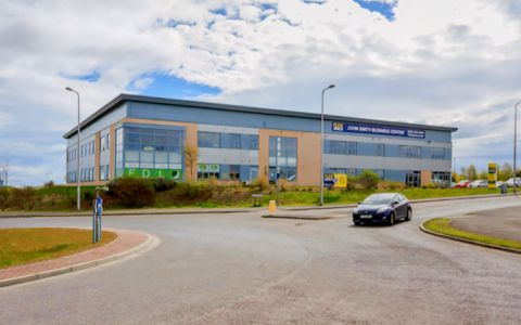 View of John Smith Business Park Serviced Offices