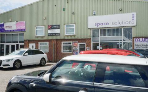 View of Sefton Lane Industrial Estate Serviced Offices