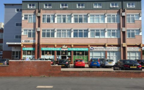 View of Shakespeare Street Serviced Offices