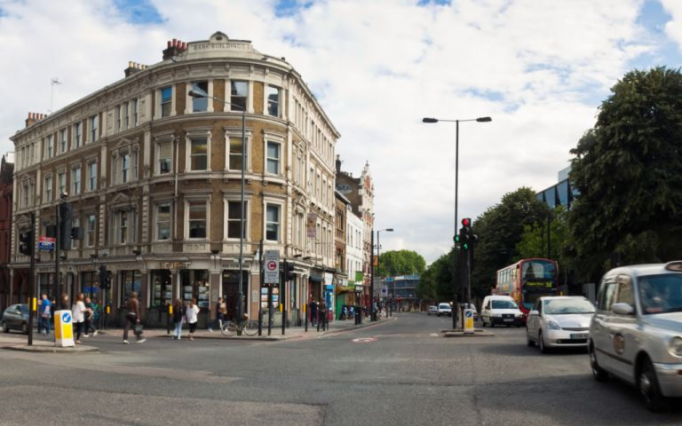 View of Goswell Road, EC1V 7JL