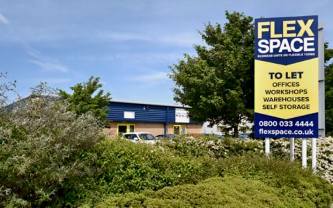 View of Yarm Road Industrial Estate Serviced Offices