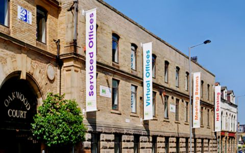 View of City Road Serviced Offices