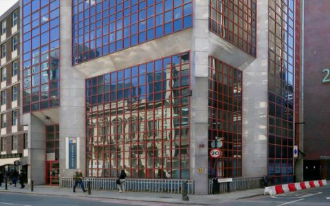 View of Leman Street Serviced Offices