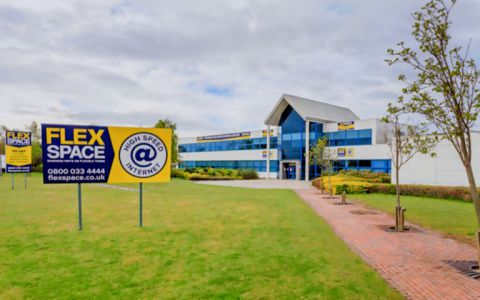 View of Mitchelston Industrial Estate Serviced Offices