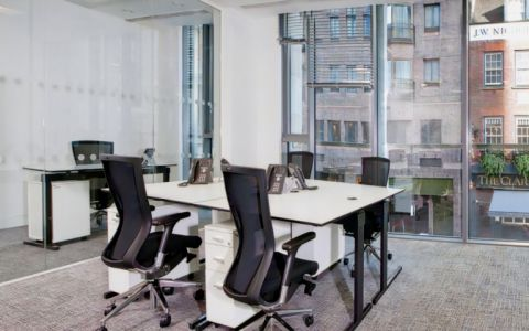 View of Dover Street Serviced Offices