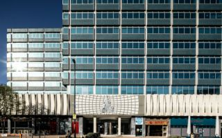 View of Dingwall Road Serviced Offices