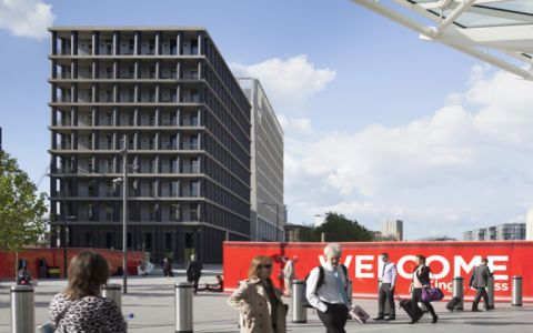 View of 1 Pancras Square Serviced Offices