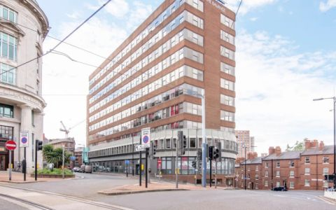 View of Pinfold Street Serviced Offices