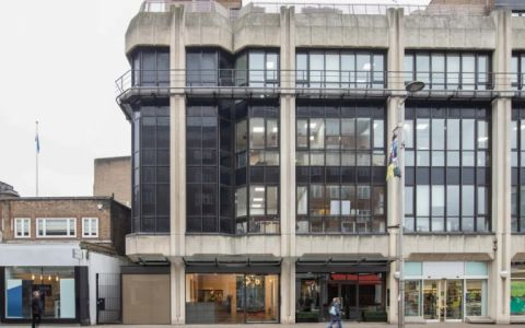 View of Kensington High Street Serviced Offices
