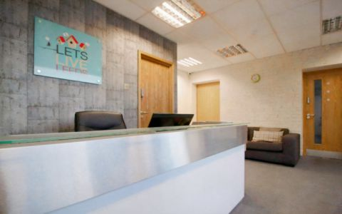 View of Regent Road Serviced Offices