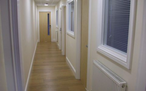 View of Ty-Coch Way Serviced Offices