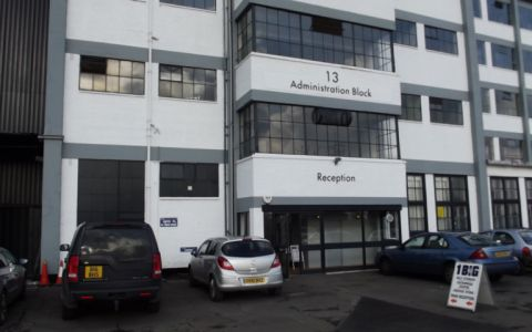 View of Thames Industrial Park Serviced Offices