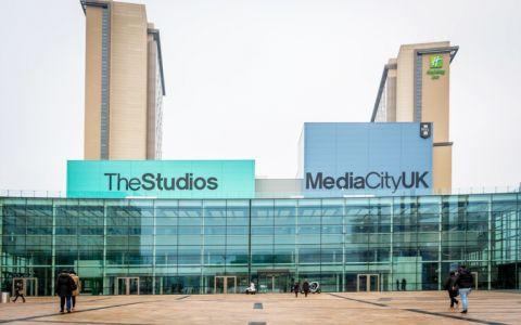 View of Media City Serviced Offices