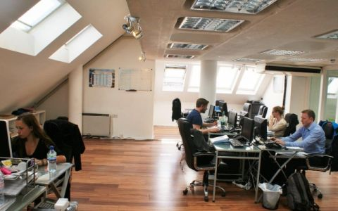View of Heathmans Road Serviced Offices