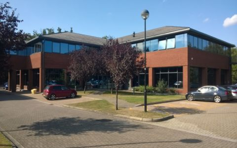 View of Ancells Business Park Serviced Offices