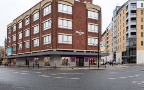 View of Savile Street, HU1 3ES