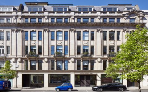 View of Great Portland Street Serviced Offices