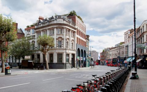View of Shoreditch High Street Serviced Offices