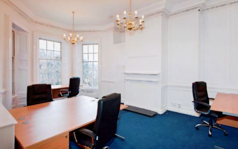 View of Church Row Serviced Offices