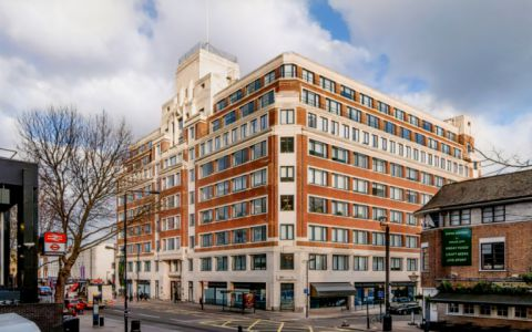 View of Eversholt Street Serviced Offices
