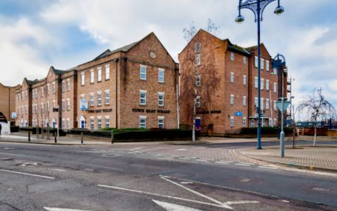 View of Town Quay Wharf Serviced Offices