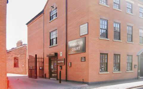 View of Branston Street Serviced Offices