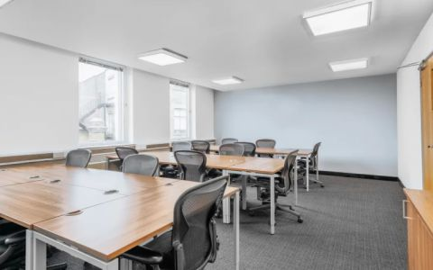 View of Soho Square Serviced Offices