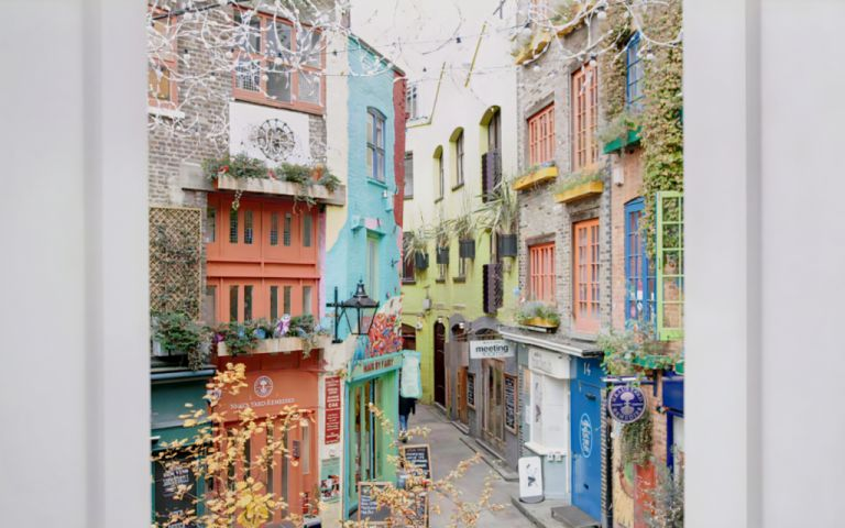 View of Neals Yard, WC2H 9DP