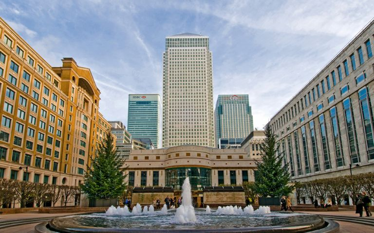 View of Canada Square, E14 5DY