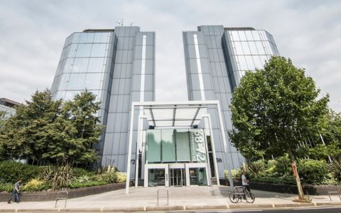 View of Hammersmith Road Serviced Offices