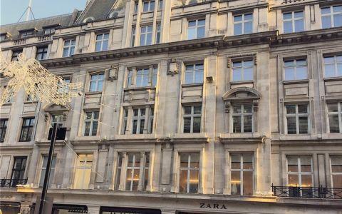 View of Regent Street, W1B 5FE