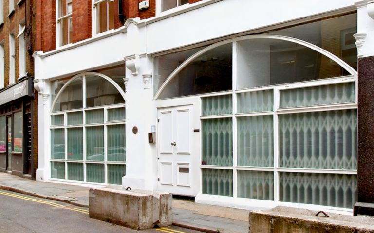 View of St John's Lane, EC1M 4BJ