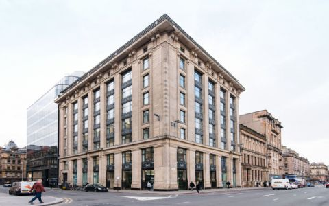 View of George Square Serviced Offices