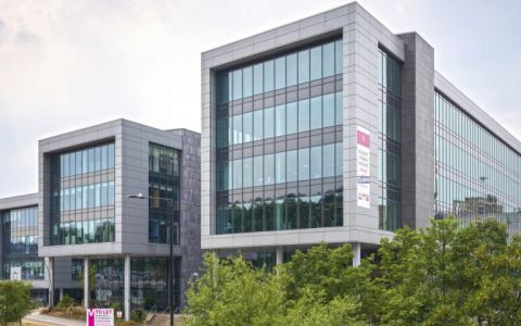 View of  Concourse Way, Sheaf Street Serviced Offices