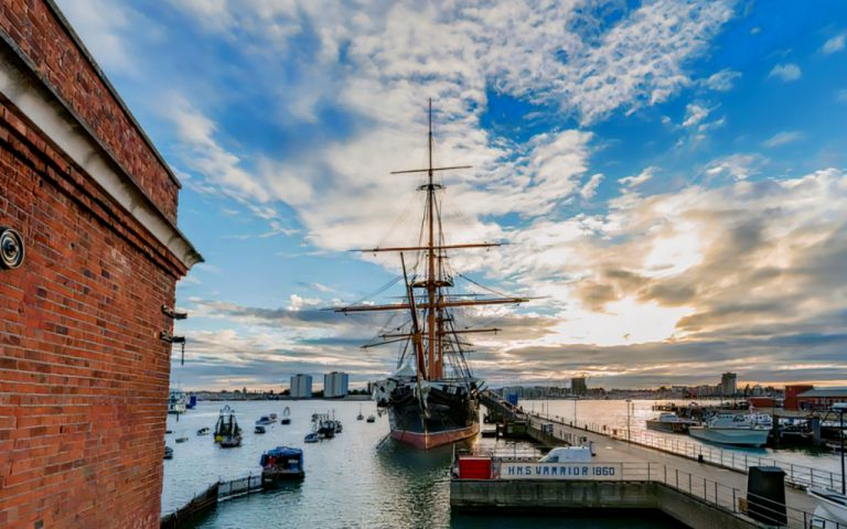 View of Portsmouth Historic Dockyard, PO1 3LJ