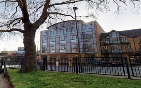 View of Putney Bridge Road Serviced Offices