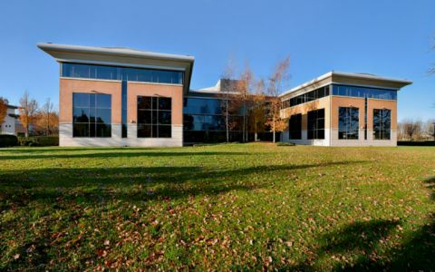 View of Brooks Drive Serviced Offices