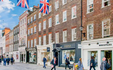 View of 54 South Molton Street, W1K 5SG