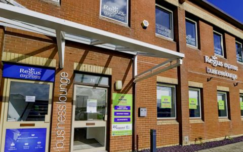 View of Fort Kinnaird Retail Park Serviced Offices