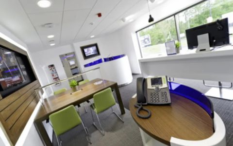 View of M4 Eastbound Jct 14/15 Serviced Offices