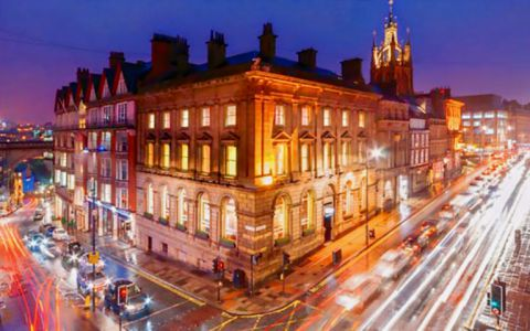 View of Mosley Street Serviced Offices