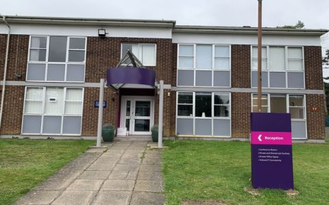 View of Heyford Park Serviced Offices