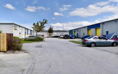 View of Deeside Industrial Estate Serviced Offices